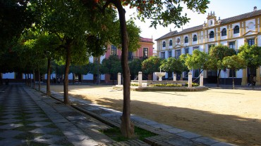 Patio de las Banderas Siviglia