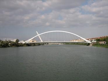 Puente de Las Barquetas Siviglia